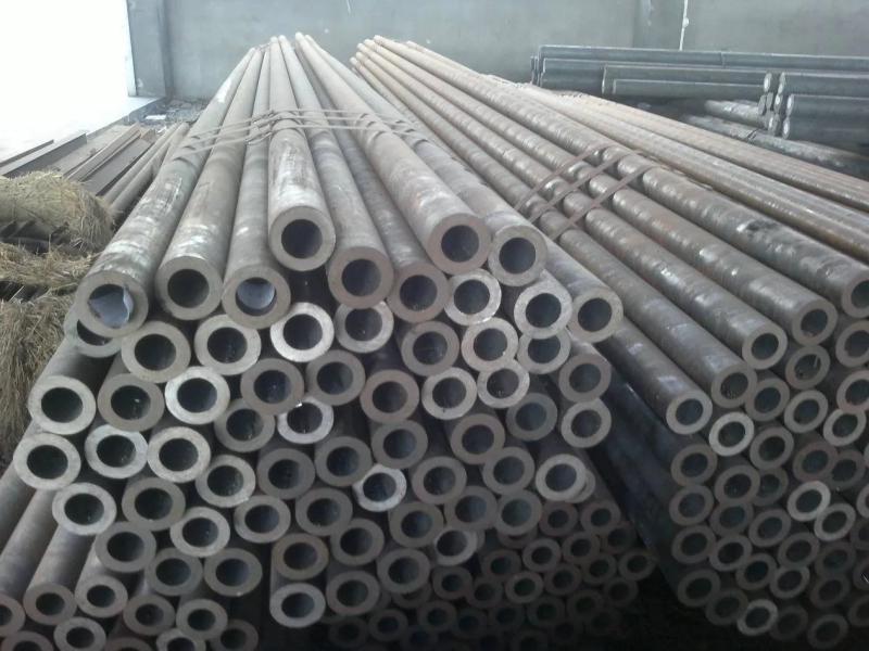 Tubo de aço carbono redondo