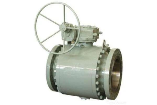 Válvula esfera montagem trunnion