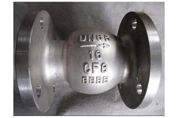 Válvula de retenção flangeada inox